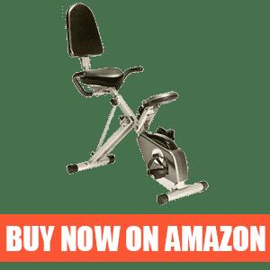 Exerpeutic 300SR – Compact Recumbent Bike