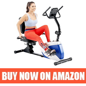 Marcy Magnetic ME-1019R - Best Recumbent Exercise Bike for Obese
