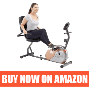 Marcy ME-709 - Best Commercial Recumbent Stationary Bike-magnetic recumbent exercise bike