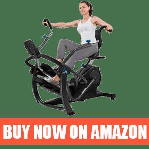 Teeter FreeStep - Best Commercial Recumbent Exercise Bike