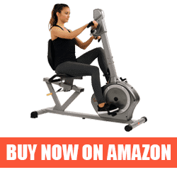 Recumbent Bike with Arms