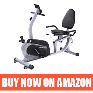 MaxKare Recumbent Stationary Bike