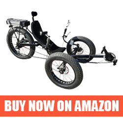 Fat Tire - Best Recumbent Bicycle for Touring