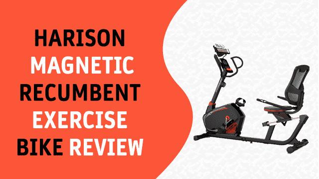 HARISON Magnetic Recumbent Exercise Bike