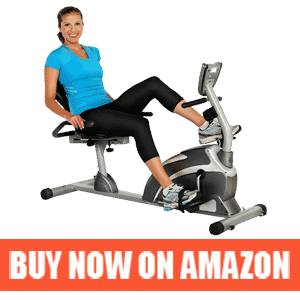 Recumbent Exercise Bike with Pulse