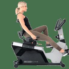 3G Cardio Elite RB - Commercial Grade Recumbent Exercise Bike